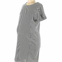 Gap - Maternity Women Blue Casual Dress M Maternity Photo