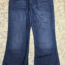 Gap Maternity Women's Designer Blue Jeans Size 6 Regular Stretch Boot Cut Ladies Photo