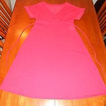Gap Maternity Womens Dress Size S Small Orange Mint Cond Cute Photo