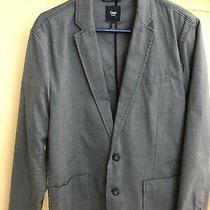 Gap Men Blue Casual Blazer Size Small Photo