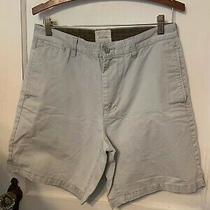 Gap Men's Flat Front Hudson Khaki Shorts Size 31  Euc  C54 Photo