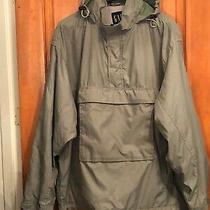 Gap Mens Green Poly/nylon Lined Hoodie Jacket Sz. Xl Photo