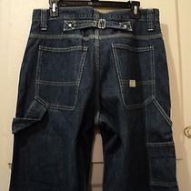 Gap Men's Jeans / Wide Leg / Baggy Fit (Tag 32x32)(Taped 32x31) Womens-Unique Photo