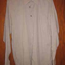 Gap Men's Medium Dress Shirt Blue Photo