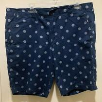 Gap Mens Shorts Blue Polka Dot Size 38 Photo