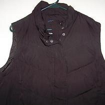 Gap Men's Sleeveless Vest Solid Charcoal Grey Size Xl Photo