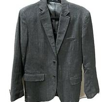 Gap Mens Wool Blazer Charcoal Gray Size Xs Extra Small Photo