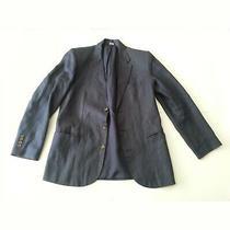 Gap Men Size S (40x30x24) Blazer Linen Dark Blue Color  Photo