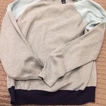 Gap Mens Grey Long Sleeve Crew Neck Sweater Sweatshirt Ex Large L Photo