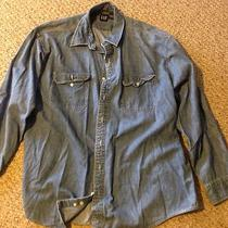 Gap Mens Xxl Denim Shirt Photo