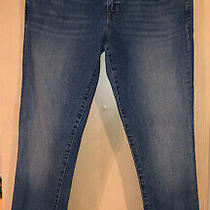 Gap Mid Blue Wash Studded Always Skinny Jeans Size 31 Photo