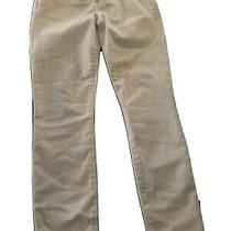 Gap Mid Rise True Skinny Ankle White Jeans 27/4 Regular Frayed Hem 27 Photo