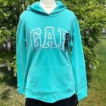 Gap Mint Green Hooded Sweatshirt Jacket Size M New With Tags Photo