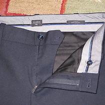 Gap Navy Blue Tailored Mens Slim Fit Italian Wool Pants 32w 32l Navy Blue 89.00 Photo