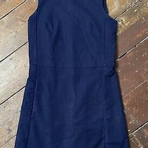 Gap Navy Dress Size 4 Xs Fitted Cotton Sleeveless Photo