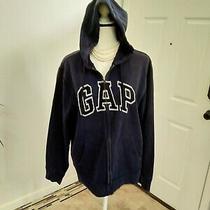 Gap Navy Hoodie Sweater Size Xlarge Photo