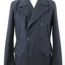 Gap Navy Pea Coat Size M Photo