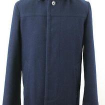 Gap Navy Short Coat Size M   Photo
