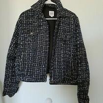 Gap Navy Tweed Blazer Size Medium  Photo