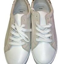 Gap New Women's Size 9 Fashion Sneakers Sand Leopard Print Calf Hair Heel  Photo