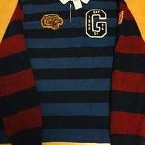 Gap Nwt Boys Size Medium Polo Sweater Patch Details 100% Cotton msrp69.95 Photo