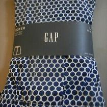 Gap Nwt Men's Large 35 36 Waist White With Navy Blue Circles Cotton Boxer New  Photo