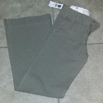 Gap Nwt Modern Fit Pinstripe Chinos Size 4   Photo