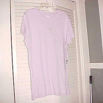 Gap  Nwt Short   Sleeve Pink   Top Name on Front in Rhinestones  Xxl Photo