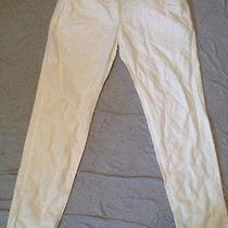 Gap Off White Linen Pants-Size 2 Photo