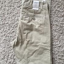 Gap Original Khaki Flat Front Pant Men 32x34 New Beige Photo