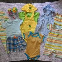 Gap Oshkosh Infantino Easter Spring Colors 11 Piece Infant 3-9 Month Set Lot Photo