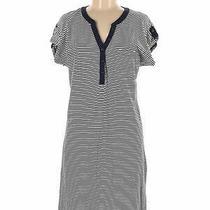 Gap Outlet Women Blue Casual Dress M Photo