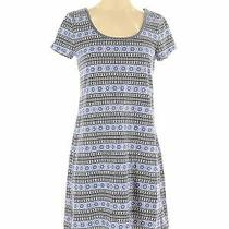 Gap Outlet Women Blue Casual Dress S Photo