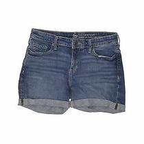 Gap Outlet Women Blue Denim Shorts 25w Photo