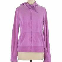 Gap Outlet Women Purple Zip Up Hoodie L Photo