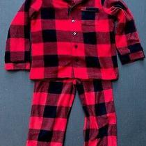 Gap Pajamas Set Red Plaid 4t - Great Condition Photo