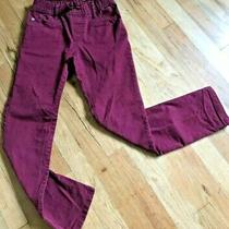 Gap Pants Big Boys Size L Large Burgundy Drawstring Slim Fit Pants Exc Condition Photo