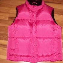 Gap Pink Down Vest Jacket Size Medium Photo