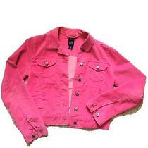 Gap Pink Trucker Flap Jacket Size M Photo