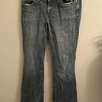 Gap Premium Flare Dark Blue Sz 10r Jeans Euc Photo