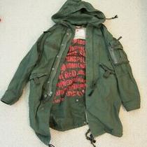 Gap - Product (Red) Green Fishtail Parka Heavy Jacket- Sz Small Photo