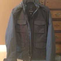 Gap Puffer Jacket / Coat Graphite Grey Medium Photo