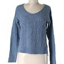 Gap Pullover Sweater Sm Solid Scoop Neck Photo