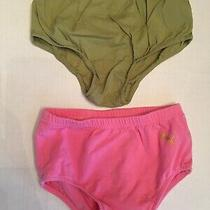 Gap Puma 5t Diaper Underpants Cover Pinny Green Pink Bloomers Lot Toddler Vanity Photo