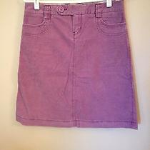 Gap Purple Corduroy Skirt Size 1 Photo