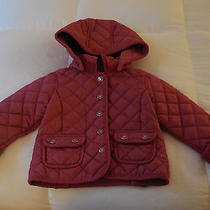 Gap Quilted Barn Jacket Sz. 2 Yrs.   Pink Photo
