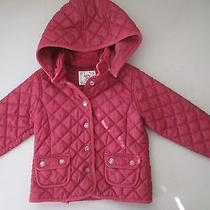Gap Quilted Barn Pink Jacket Size 5 Photo