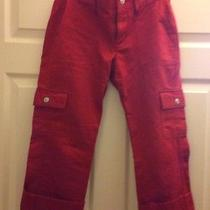 Gap Red Capri Size 1 Photo