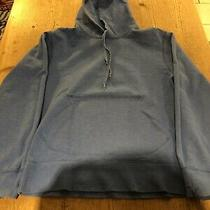 Gap Reversible Blue Terry Cloth Hoodie Size S Photo