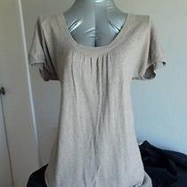 Gap  Round Neck Sweater Top Size L Light  Photo